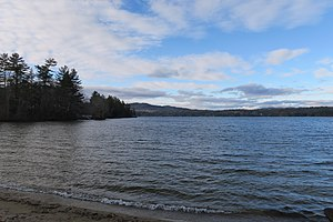 Webster Lake (New Hampshire) - Image: Webster Lake, Franklin NH