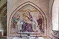 Weitensfeld Zweinitz Pfarrkirche hl. Egydius re. Seitenaltar got. Fresko Pietá 13092021 1453.jpg
