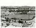 Wellington City - Park and Reserves Publicity Caption Cricket match at Basin Reserve in Wellington. Wellington Province Photographer T. Hann.jpg