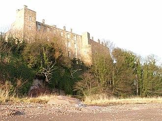 Wemyss Castle - Wemyss Castle seen from the foreshore.