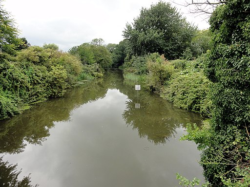 West Hythe, Royal Military Canal - geograph.org.uk - 2585469
