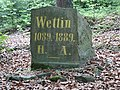 Wettin stone: memorial stone