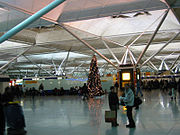 The Interior of Stansted Airport