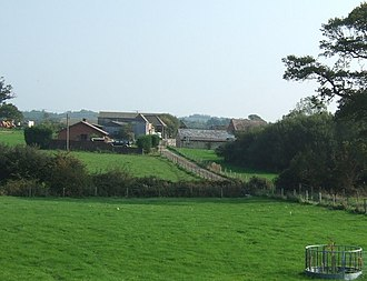 Smallbrook Junction railway station - Image: Whitefield Farm 262329