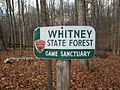 Whitney State Forest Virginia border sign.jpg