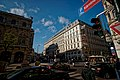 Wien - Kärntner Straße - View NW on Wiener Staatsoper, Philharmonikerstraße & Hotel Sacher 1876 - Neorenaissance.jpg