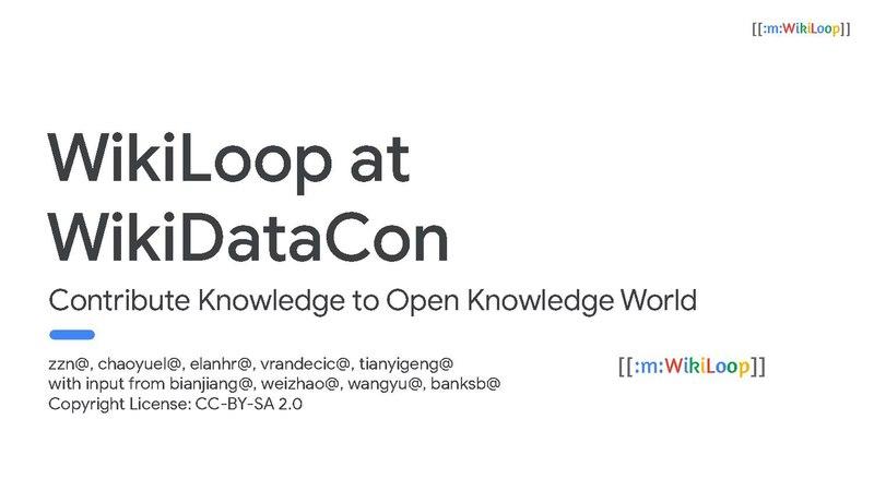File:WikiLoop at WikiDataCon 2019.pdf