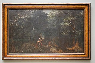 Woodland with Saint Jerome