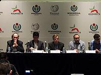 Wikimanía 2015 - Day 2 - Press Conference - LMM - México D.F. (16).jpg