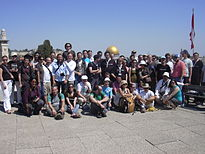 Wikimania 2011 - Wikimedians in Jerusalem.jpg