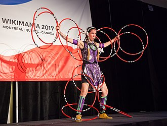 Mohawk people - Contemporary Quebec Mohawk dance performance at Wikimania 2017