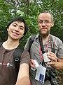 Wikimania 2017 by Deryck day 0 - 03 geocache.jpg