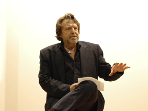 John Perry Barlow - Barlow in 2006, European Graduate School, Leuk, Switzerland
