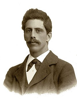 W.B. IJzerdraat jr. in 1901
