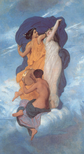 La Danse (Bouguereau) - La Danse (1856)