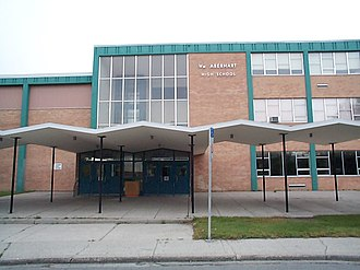 William Aberhart High School - Image: William Aberhart High School 2