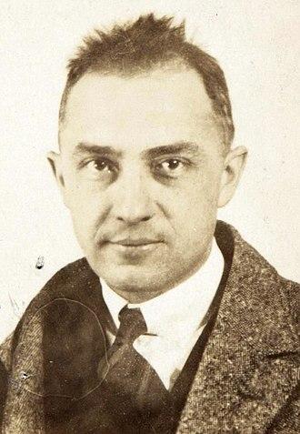 William Carlos Williams - Williams in  1921