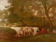 William Edward Stott (1859-1918) - El abrevadero - 1214772 - National Trust.jpg