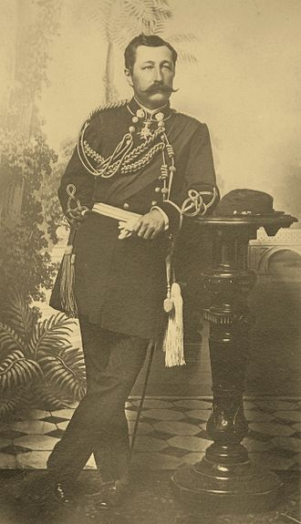 William H. Cornwell - Col. William H. Cornwell in the military uniform of the Hawaiian royal court