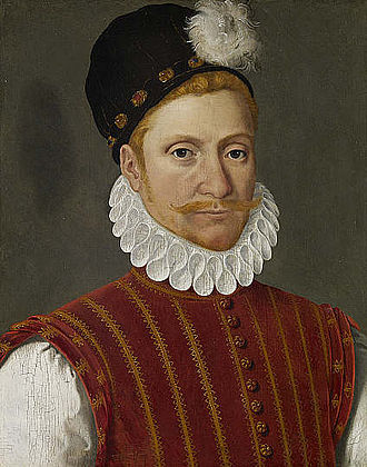William Kirkcaldy of Grange - Kircaldy of Grange, 1555-56, by François Clouet.
