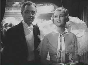 The Great Ziegfeld - Florenz Ziegfeld, Jr. (William Powell) and Billie Burke (Myrna Loy)