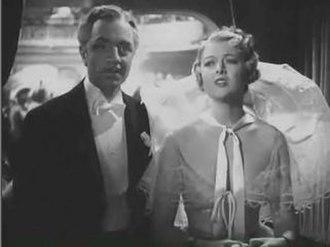 The Great Ziegfeld - Florenz Ziegfeld, Jr. (William Powell) and Billie Burke (Myrna Loy)