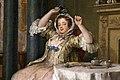 William hogarth, marriage a-la-mode, 1743 ca., 02 il tete-à-tete 5.jpg