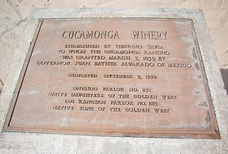 Rancho Cucamonga Mexican land grant given in 1839