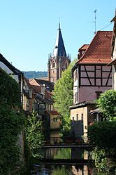 Skyline of Wissembourg