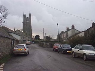 Withiel civil parish and village in mid Cornwall, England