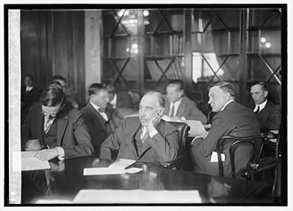 William Larimer Mellon Sr. - Mellon before a congressional committee in 1924