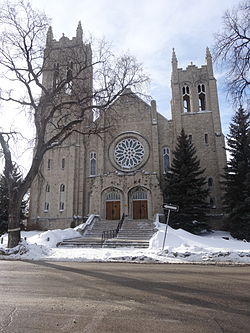 Westminster United Church in Wolseley, opened in 1912.