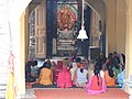 Women devotees reciting prayer at Laxminarayan temple ,Chamba. 05.jpg