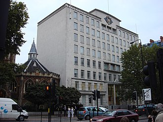Woolworths Group - Woolworths Group PLC headquarters on Marylebone Road, London