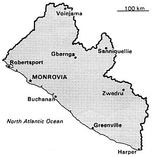 World Factbook (1990) Liberia.jpg