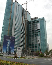 World Trade Centre Residence bulan November 2007
