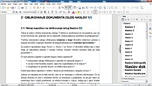 LibreOffice Writer v Windows