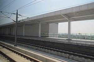 Wuwei County - Wuwei Railway Station on Hefei–Fuzhou High-Speed Railway.