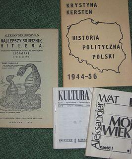 Polish underground press Clandestine publishing operations in Poland during World War II and the Communist regime