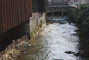 Wyna (river) - The Wyna in Menziken
