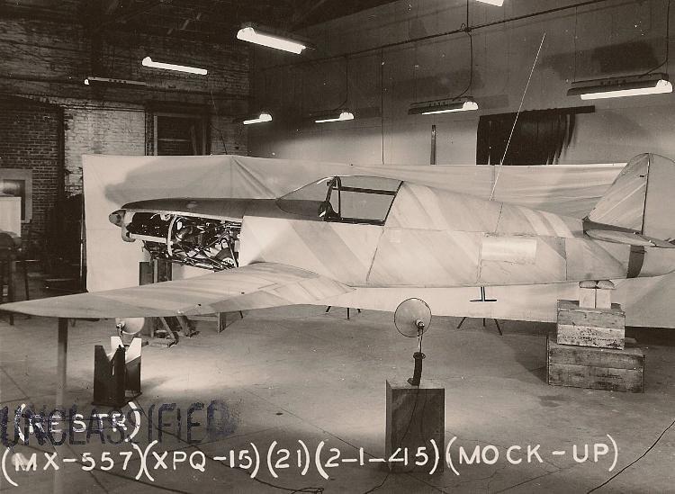 XPQ-15 mockup
