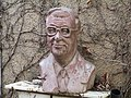YItzhak Navon sculpture in Kfer Blum.JPG