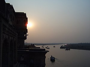 Vrindavan - Kesi Ghat on the Yamuna river