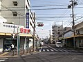 Yanagihara-dori Shopping Street 20140728.JPG