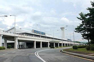 Yangyang International Airport - Image: Yangyang International Airport 20130829