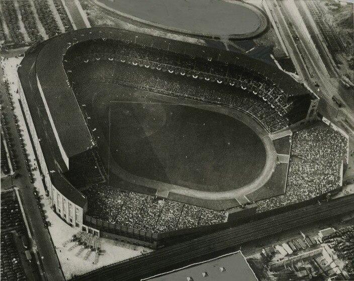 Yankee Stadium Aerial View