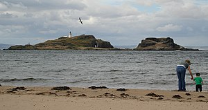 Fidra from Yellowcraigs