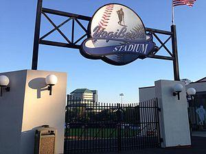 Yogi Berra Stadium - Entrance to Yogi Berra Stadium