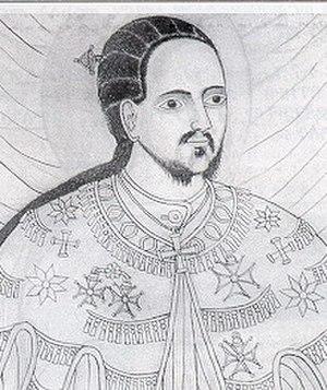 Yohannes IV - Ethiopian portrait of Emperor Yohannes IV
