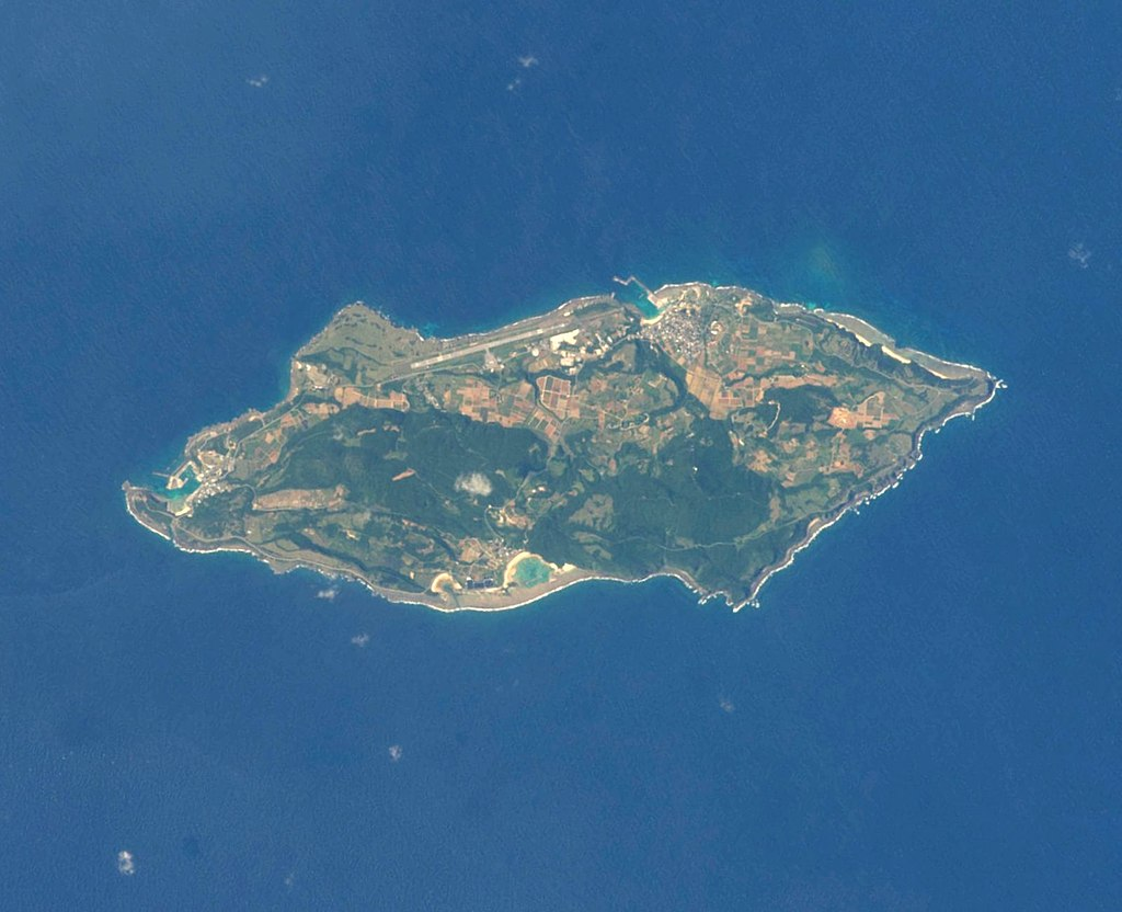 Yonaguni Island ISS039